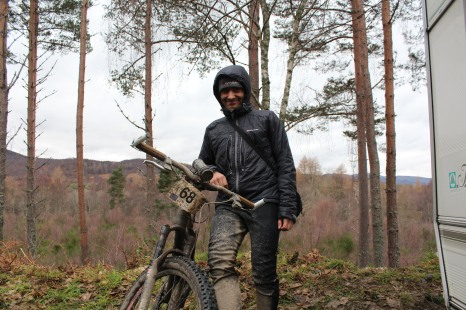 Markus after Strathpuffer