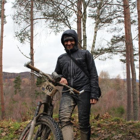 Markus after Strathpuffer